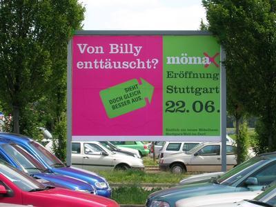 Mömax Werbung: Von Billy enttäuscht?