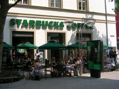 Starbucks in Stuttgart