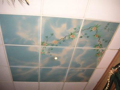 Himmel im Restaurant