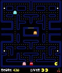 Screenshot von Pacman