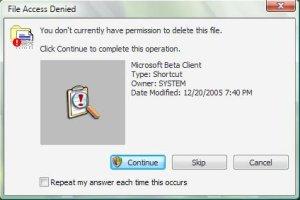 Microsoft Windows Vista: Shortcut in sieben Schritten löschen
