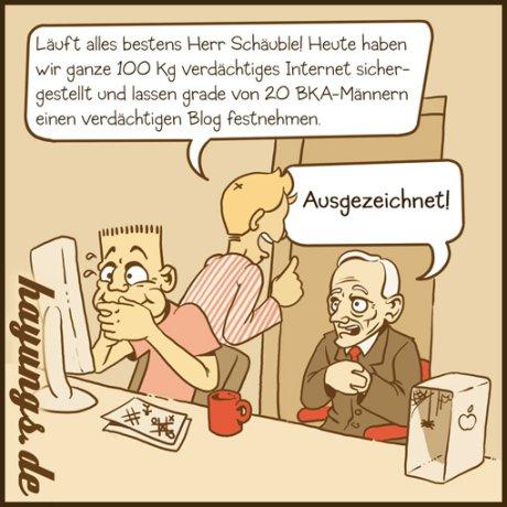 Schuh für Schäuble