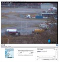 Screenshot der Webcam in Friedrichshafen