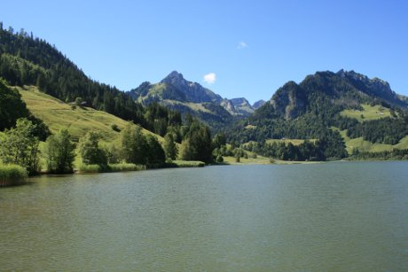 Berge am Schwarzsee