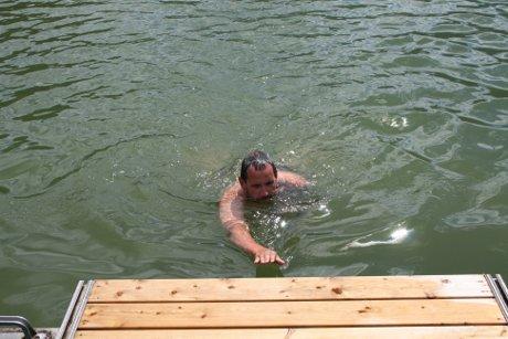 Schwimmen im Schwarzsee