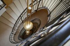 Treppenhaus im Mooshof