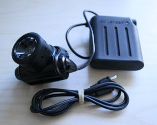 LED Lenser H14 als Gürtellampe