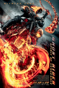 Filmplakat zu Ghost Rider - Spirit of Vengeance