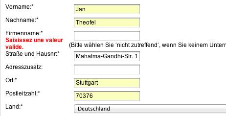 VMware Bestellung Screenshot