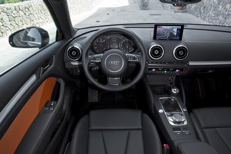 Innenraum des neuen Audi A3