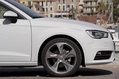 Audi A3 von der Seite