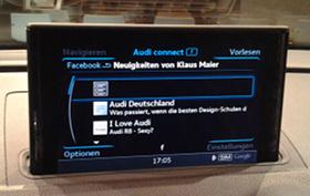 Audi-Facebook-App