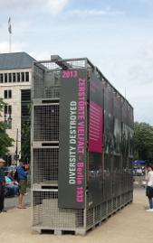 Treffpunkt für den Walk to Talk in Berlin