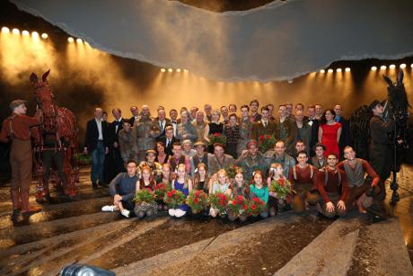 Gefährten: Gruppenfoto der Schauspieler