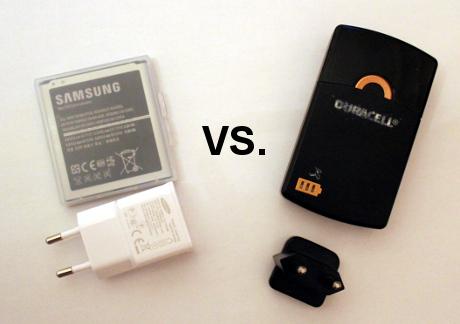 Interner vs. externer Akku für Samsung Galaxy S4
