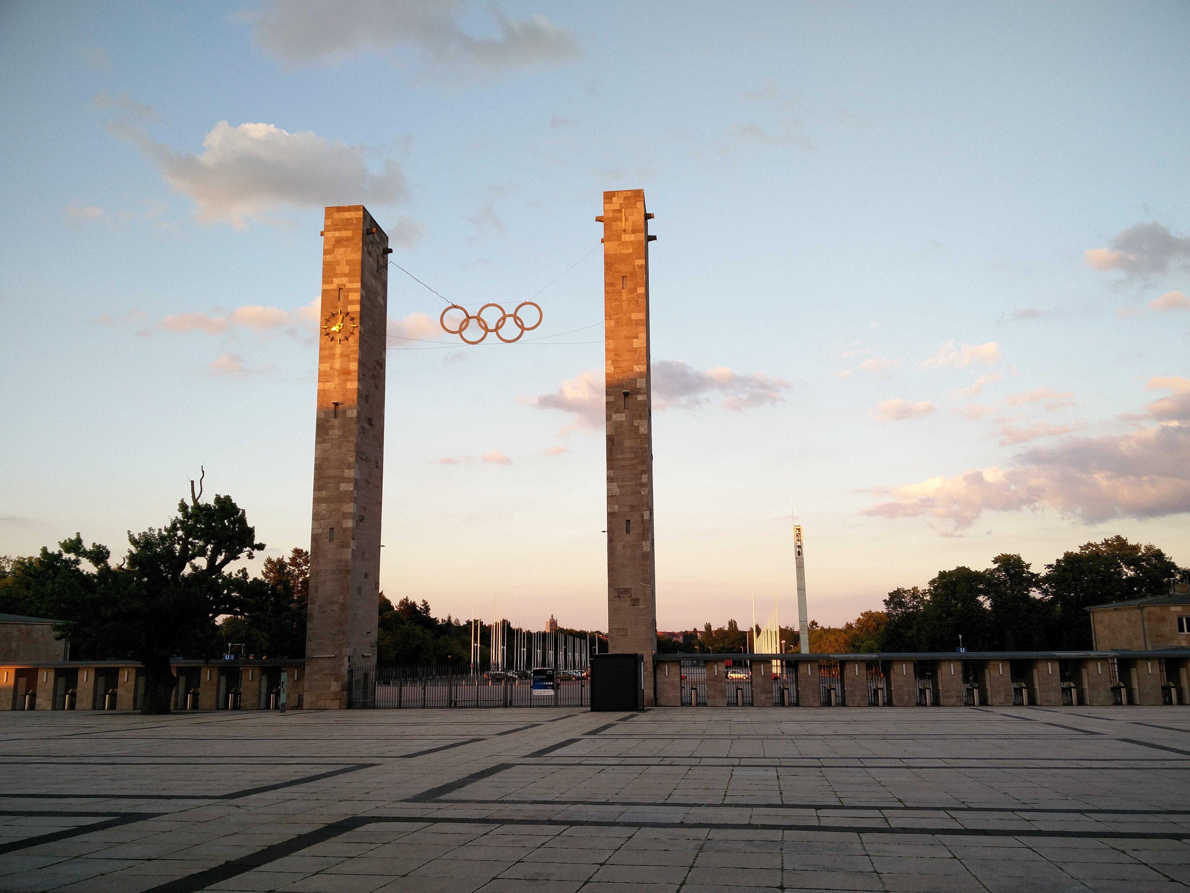 Olympiastadion Außenansicht