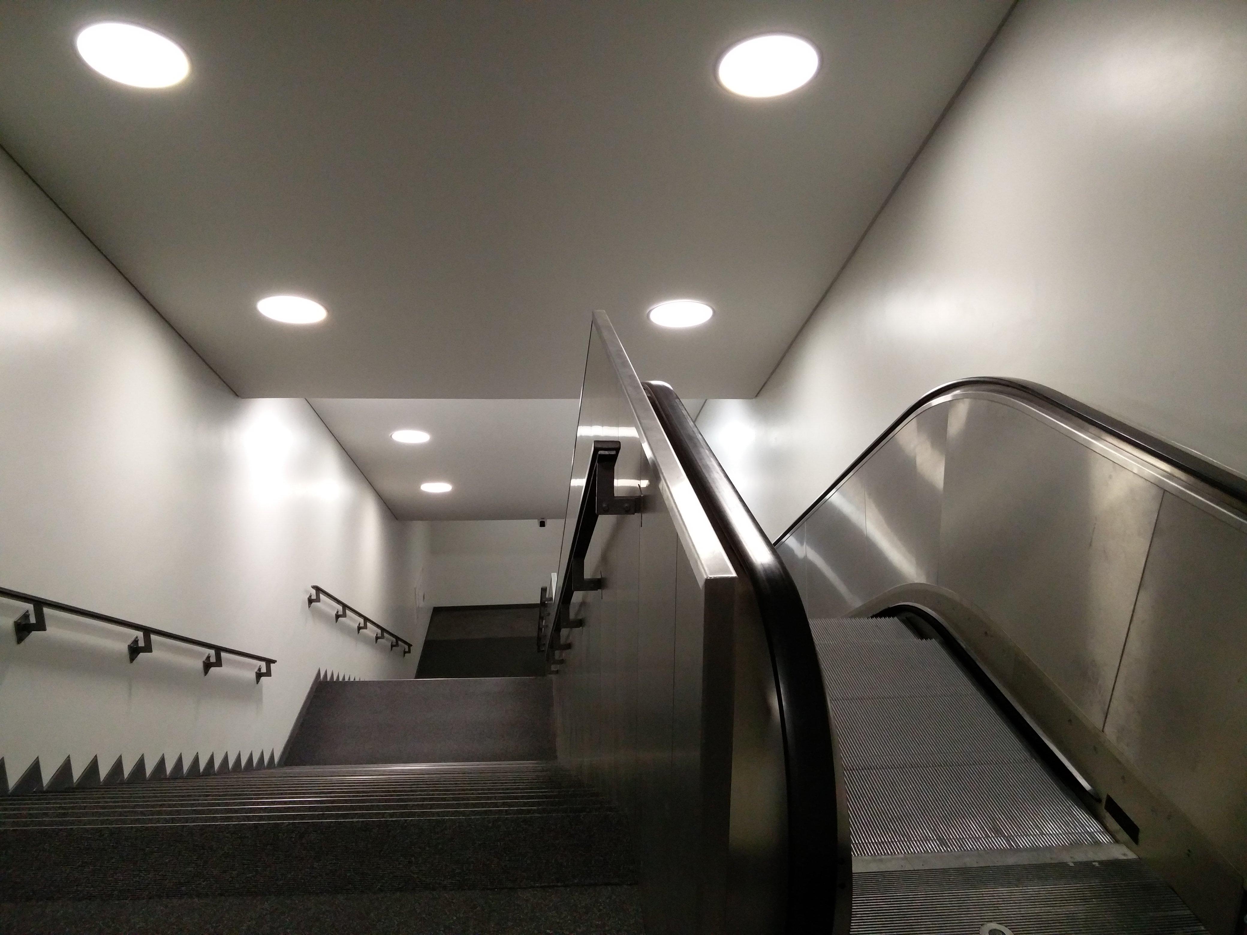 Rolltreppe für Sportler