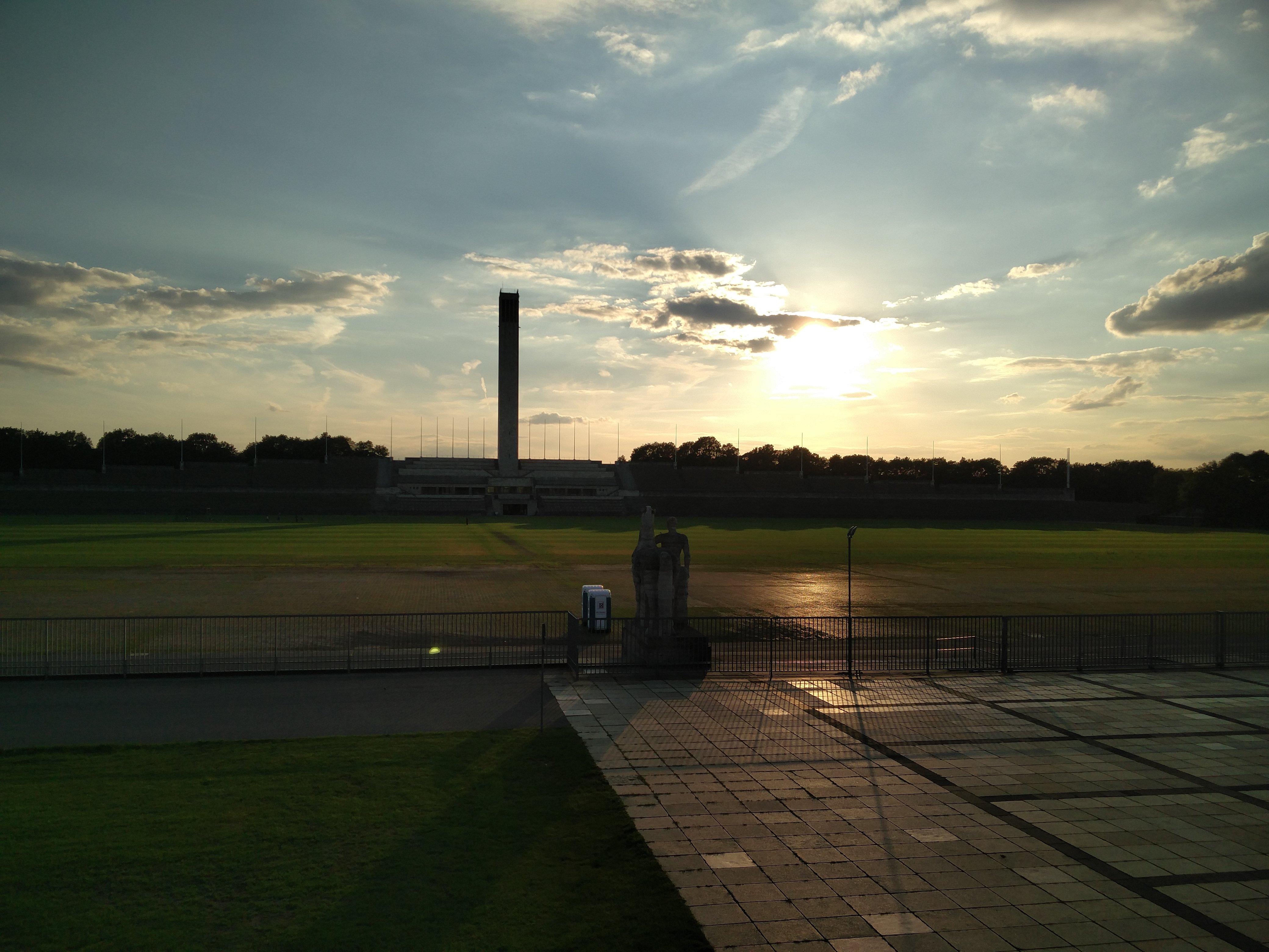 Maifeld neben dem Olympiastadion