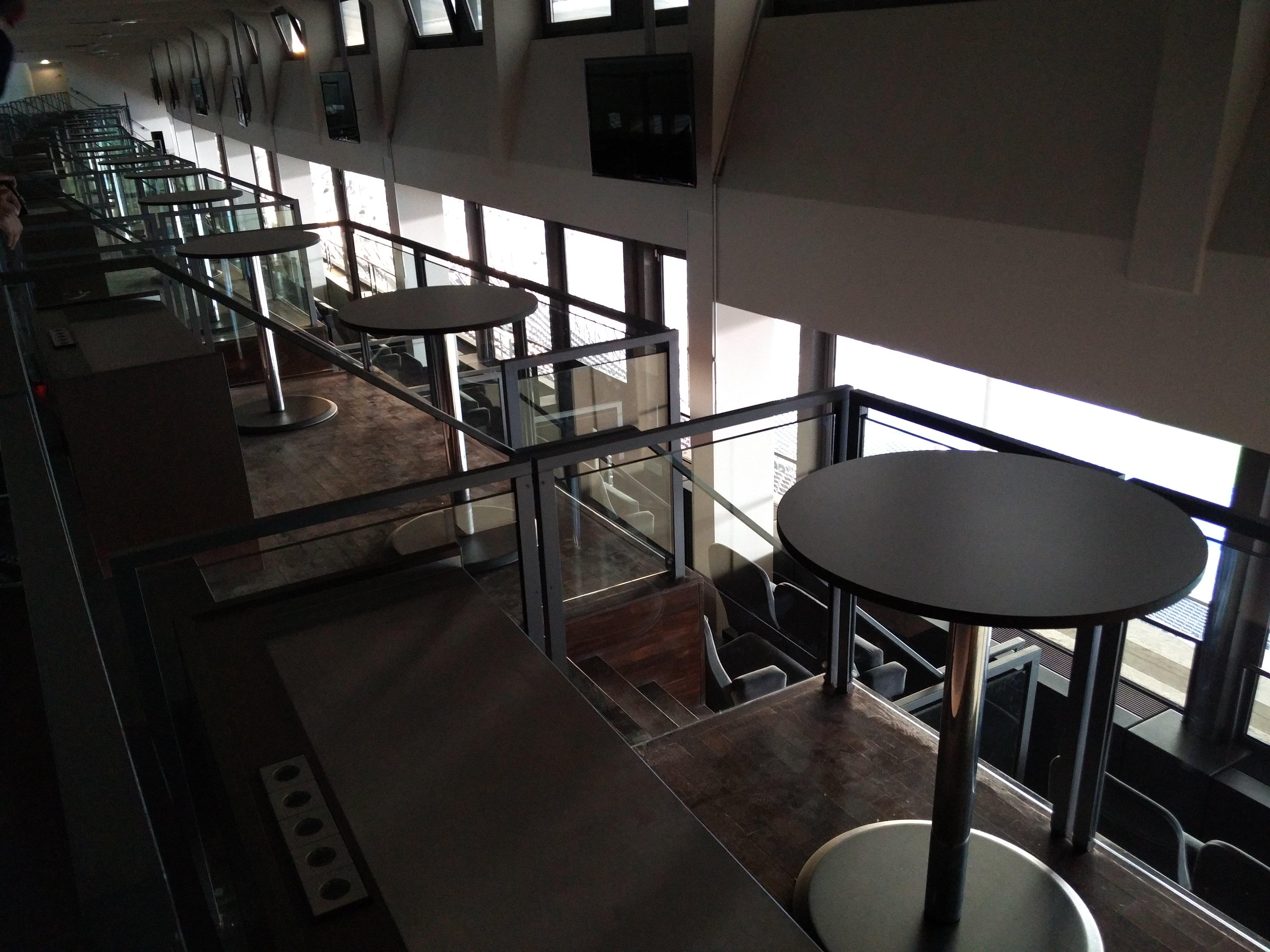 Skyboxen im Olympiastadion