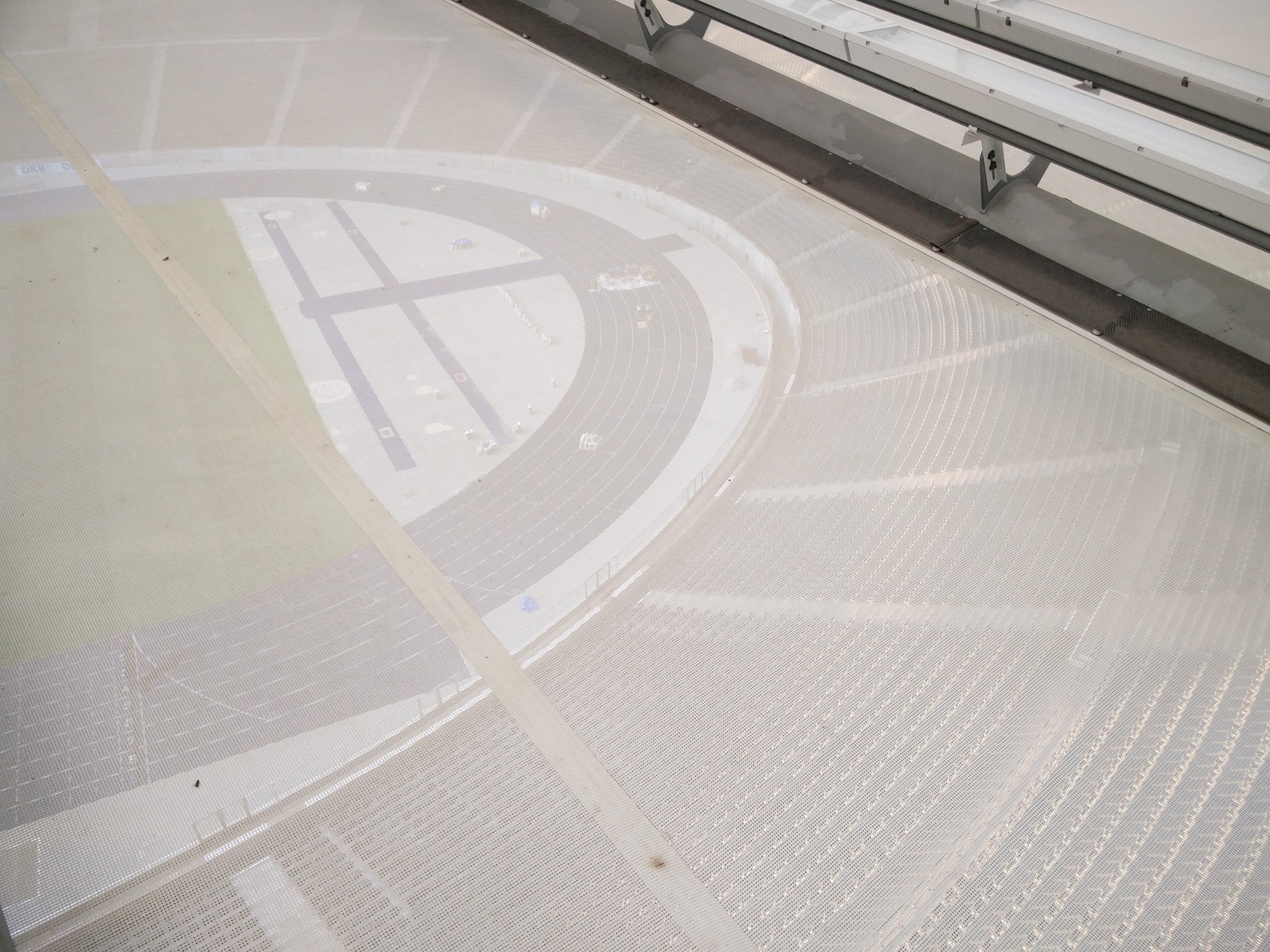 Blick durch das Dach